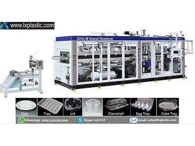 LX3122 HF-IM-C 2in1 thermoforming machine
