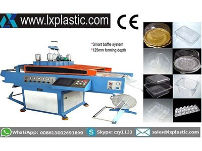 HY-76/54  & HY-62/51 Contact Heat Thermoforming machine