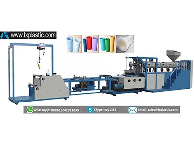 LX800-1-HC mono layer PP PS  sheet extrusion line