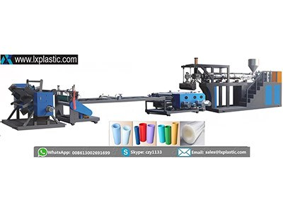 LX800-1-HIR mono layer PP PS  sheet extrusion line