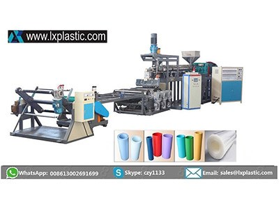 LX800-1-HMIR mono layer PP PS  sheet extrusion line