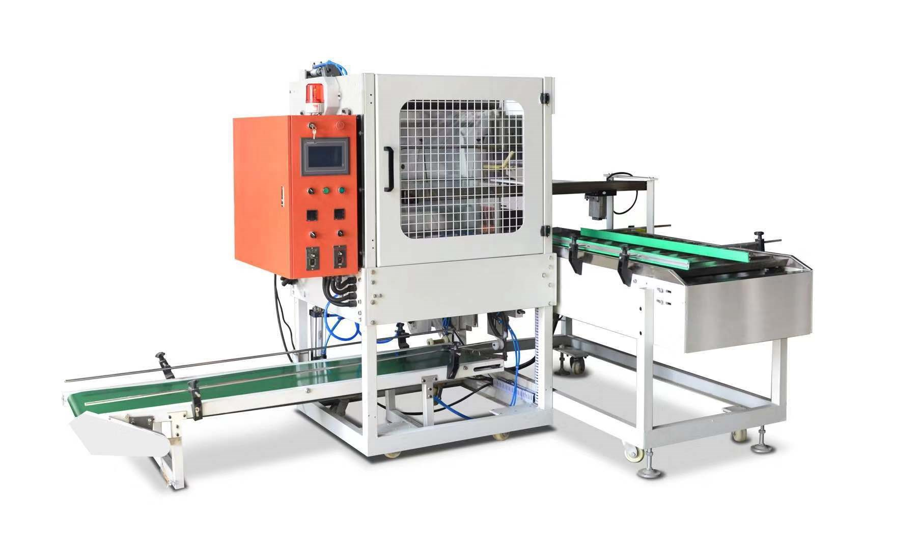 Lid packing machine